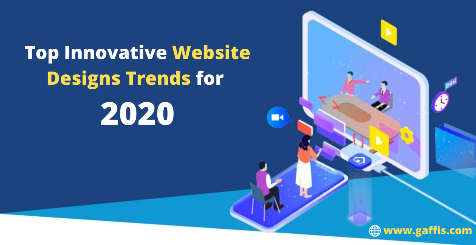 Top Innovative Website Designs Trends for 2020