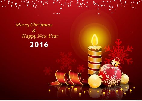 Merry Christmas & New Year 2016