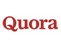 Find us at Quora