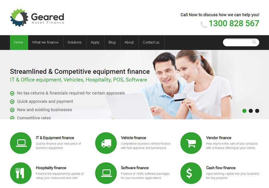 Geared Finance