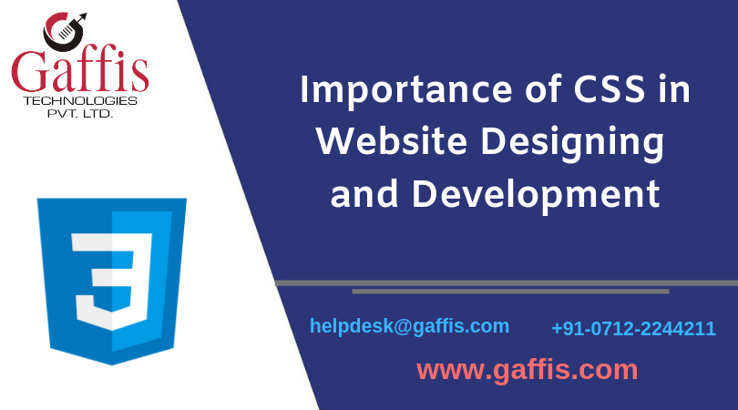 Importance of CSS in website designing and development