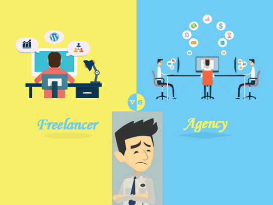 Whom you want to hire for your Website Development? Freelancer or Agency!